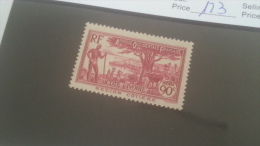 LOT 227347 TIMBRE DE COLONIE COTE IVOIRE NEUF* N�123 VALEUR 11 EUROS