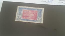 LOT 227348 TIMBRE DE COLONIE COTE IVOIRE NEUF** N�105 VALEUR 17 EUROS