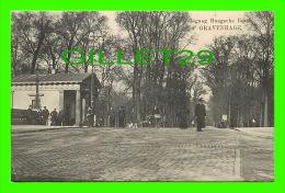 DEN HAAG, NETHERLAND - S'GRAVENHAGE, INGANG HAAGSCHE BOSCH - E. & B. - GRAND BAZAR DE LA PAIX - ANIMATED - - Den Haag ('s-Gravenhage)