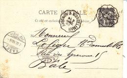 Vaucluse,  AVIGNON A MONTELIMAR, Sur Carte Entier - Marcophilie (Lettres)