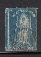 Victoria Used Scott #30 6p Victoria, Rouletted - 1850-1912 Victoria