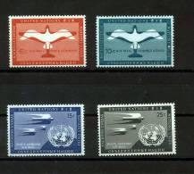UN New York 1951 Michel 12-15 MNH - New York - Sede De La Organización De Las NU