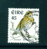 IRELAND  -  1997  Bird Definitives  Song Thrush  45p  Used As Scan - Usados