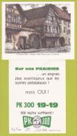 Carton Publicitaire 110 X 140 Mm Illustré Par Jean Rigaud 57, Riquewihr, Quelques Vieilles Maisons Dans La Grand'Rue - Publicités