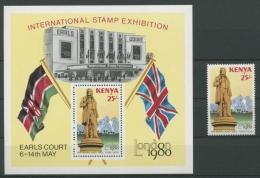 Kenia 1979 Rowland Hill 164 Bl 14 Postfrisch (G3236) - Kenia (1963-...)