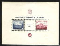 Czechoslovakia  239  S/S  Bloc  ** - Czechoslovakia