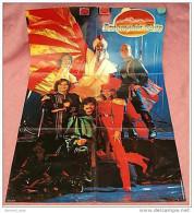 Großes Dschinghis Khan Plakat Von Ca.1980  - Ca. 60 X 90 Cm  ,  Ungebraucht - Plakate & Poster