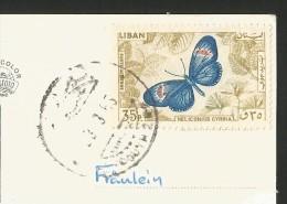LEBANON Libanon Baalbeck Temple Of Bacchus 1965 - Libano