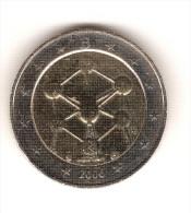 BELGIQUE 2006 De Circulation   ATONIUM 1 Pièce De 2 Euros / (cote Neuve  2013 = 16.90 Euros) RARE  [lot C ] - Belgique