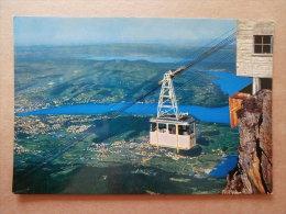 38319 PC: SWITZERLAND: LU  LUCERNE: Aerial Cableway On The Mount Pilatus, View On Lucerne. - LU Luzern
