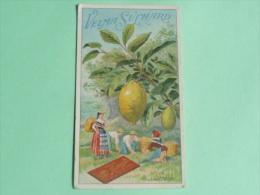 CHROMO - IMAGE, CHOCOLAT VELMA SUCHARD , Le CITRON - Suchard