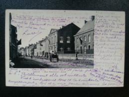 CP Carte Postale Belgique Theux Rue Hovémont Ecole (5) - Theux