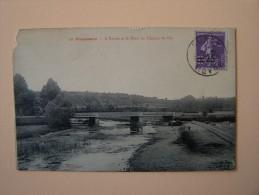 58 POUSSEAUX L'Yonne Et Pont Du Chemin De Fer édit Goulet Clamecy - Autres Communes