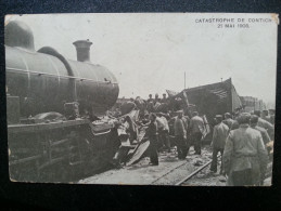 CP Carte Postale Belgique Catastrophe De Contich Kontich 21 Mai 1908 (5) - Kontich