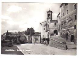 Castelbellino Piazza San Marco NON VIAGGIATA  CODICE C.1842 - Italia