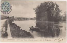 COMPIEGNE - L'Oise Et Le Pont De La Ligne De Soissons - Compiegne
