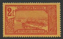 Guadeloupe, 2 F. 1905, Sc # 81, MH