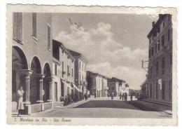 San Martino In Rio Via Roma VIAGGIATA 1940  CODICE C.1851 - Italia