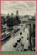 Stuttgart, Königsstraße, Württ.-1955-Verlag:----- ------, POSTKARTE  Mit Frankatur,  Mit Stempel, STUTTGART  12.10.55 Er - Stuttgart