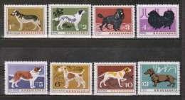 BULGARIA 1964 FAUNA Animals DOGS - Fine Set MNH - Bulgarie