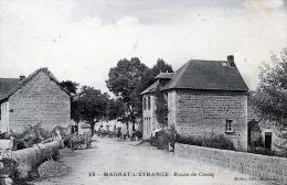 C1194 Cpa 23 Magnat L'Etrange - Route De Crocq - Non Classificati