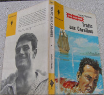 MJ206 Trafic Aux Caraïbes Avec Bob MORANE De Henri VERNES Chez Marabout Junior - Books, Magazines, Comics
