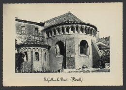 DF / 34 HERAULT / SAINT-GUILHEM-LE-DESERT / L'ABSIDE DE L'EGLISE (IX° S.) - France