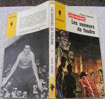 MJ226 Les Semeurs De Foudre Avec Bob MORANE De Henri VERNES Chez Marabout Junior - Books, Magazines, Comics