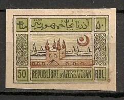 Timbres - Russie - Républiques Transcaucasiennes - Azerbaidjan - 1919 - 50 -