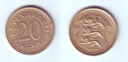 Estonia 20 Senti 1935 - Estonie