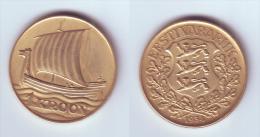 Estonia 1 Kroon 1934 - Estonie