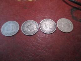 4* 50 Pfennig - 1876- Métal  Argent -  LETTRES A- B- H VOIR PHOTOS - 50 Pfennig