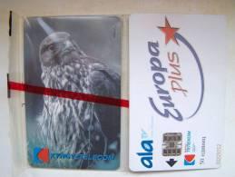 MINT In Blister EAGLE Chip Cards Cartes Karten From KYRGYZSTAN Kirghizistan Kirgisistan. Bird Oiseaux Vogel Aigel Adler