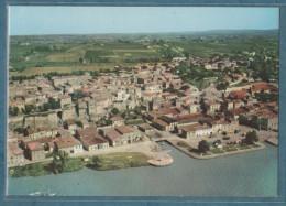 33 - BOURG-SUR-GIRONDE - Vue Aérienne - En Premier Plan La Dordogne  -non écrite -2 Scans- 10.5 X 15 - CIM - Francia