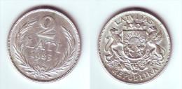 Latvia 2 Lati 1925 - Lettonie