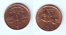 Lithuania 1 Centas 1925 - Lituanie