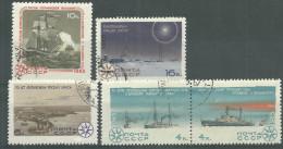 La Russie Oblitérérs Avec Gomme D'origine, No: 3017 à 3021, Coté 1,60 Euros, Y & T, USED,  POLAR RESEARCH ANNIVS - 1923-1991 URSS