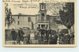 GALLARGUES  - Place De La Liberté. - Gallargues-le-Montueux