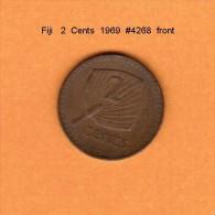 FIJI   2  CENTS  1969   (KM # 28) - Fiji