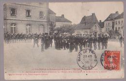 Troyes 34è Fête Fédérale De Gymnastique - 6,7 Et 8 Juin 1908 - 8. Lt Col Noury Présentant Les Officiers De La Garnison - Troyes