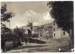 Ostra Vetere Case Popolari VIAGGIATA 1957  CODICE C.1855 - Italia