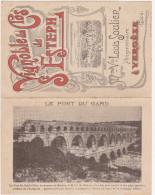 Vignoble Du Clos De St Esteph ( Pub Dépliant) - Vergèze