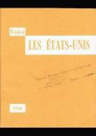 """Revue Touristique """" Voici Les ETATS-UNIS """" - ( Distribué Lors De L´ Exposition Universelle De Bruxelles 1958)   (3758 ) - Voyages"""