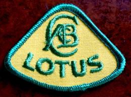 Patch �cusson tissu � coudre - Automobile - LOTUS