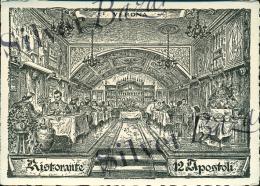 VERONA -RISTORANTE 12 APOSTOLI - PUBBLICITARIA - Verona