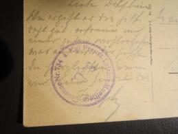 Militaria Colonne Numéro 734 Munition Légère Allemagne  S B  Feldpostkarte  Longuyon Chevaux Charettes - Guerre De 1914-18