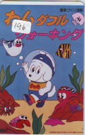 Télécarte JAPON * Plongée (196)  Phonecard JAPAN DIVING * CORAUX * CORAL * TAUCHEN * DUIKEN * OPENWATERDIVING PADI - Sport