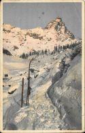 [DC5578] CARTOLINA - IL CERVINO SALENDO AL BREUIL - Old Postcard - Italia