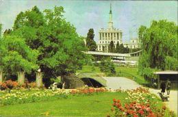 [DC5580] CARTOLINA -BUCARESTI (BUCAREST ROMANIA) PARCUL HERASTRAU - VIAGGIATA 1970 - Old Postcard - Romania