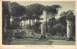 [DC5582] CARTOLINA - TIVOLI - VILLA ADRIANA TRICLINIUM DEGLI OSPITI - Old Postcard - Tivoli